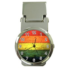 Five Wall Colour Money Clip Watches by BangZart