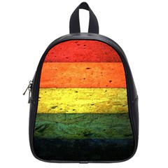 Five Wall Colour School Bags (small)  by BangZart