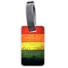 Five Wall Colour Luggage Tags (one Side)  by BangZart