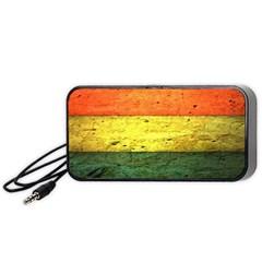 Five Wall Colour Portable Speaker (black) by BangZart