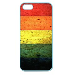 Five Wall Colour Apple Seamless Iphone 5 Case (color) by BangZart