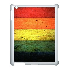Five Wall Colour Apple Ipad 3/4 Case (white) by BangZart