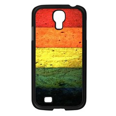 Five Wall Colour Samsung Galaxy S4 I9500/ I9505 Case (black) by BangZart