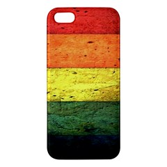 Five Wall Colour Iphone 5s/ Se Premium Hardshell Case