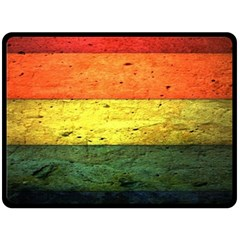 Five Wall Colour Double Sided Fleece Blanket (large)