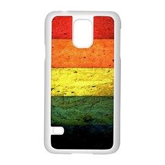 Five Wall Colour Samsung Galaxy S5 Case (white)