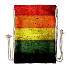 Five Wall Colour Drawstring Bag (large) by BangZart