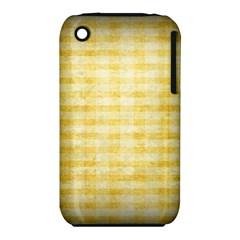 Spring Yellow Gingham Iphone 3s/3gs by BangZart
