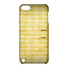 Spring Yellow Gingham Apple Ipod Touch 5 Hardshell Case With Stand by BangZart