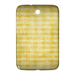 Spring Yellow Gingham Samsung Galaxy Note 8 0 N5100 Hardshell Case