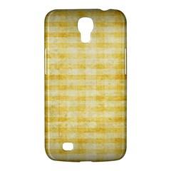 Spring Yellow Gingham Samsung Galaxy Mega 6 3  I9200 Hardshell Case