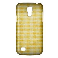 Spring Yellow Gingham Galaxy S4 Mini by BangZart