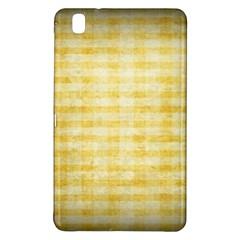 Spring Yellow Gingham Samsung Galaxy Tab Pro 8 4 Hardshell Case