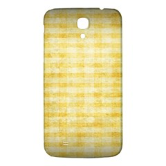 Spring Yellow Gingham Samsung Galaxy Mega I9200 Hardshell Back Case by BangZart