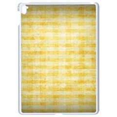 Spring Yellow Gingham Apple Ipad Pro 9 7   White Seamless Case by BangZart