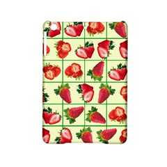 Strawberries Pattern Ipad Mini 2 Hardshell Cases by SuperPatterns