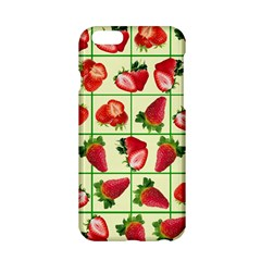 Strawberries Pattern Apple Iphone 6/6s Hardshell Case by SuperPatterns