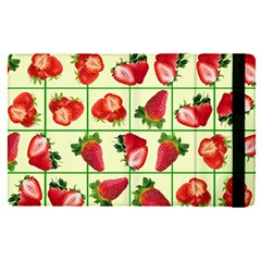 Strawberries Pattern Apple Ipad Pro 12 9   Flip Case by SuperPatterns