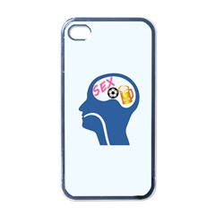Male Psyche Apple Iphone 4 Case (black) by linceazul