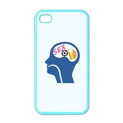 Male Psyche Apple Iphone 4 Case (color) by linceazul