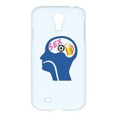 Male Psyche Samsung Galaxy S4 I9500/i9505 Hardshell Case by linceazul