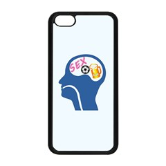 Male Psyche Apple Iphone 5c Seamless Case (black) by linceazul