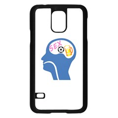 Male Psyche Samsung Galaxy S5 Case (black) by linceazul