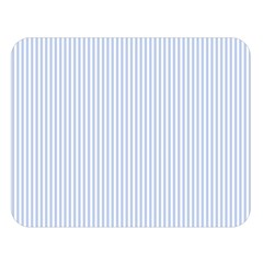 Alice Blue Pinstripe In An English Country Garden Double Sided Flano Blanket (large)