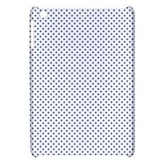 USA Flag Blue Stars on White Apple iPad Mini Hardshell Case