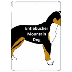 Entlebucher Mt Dog Name Silo Color Apple iPad Pro 12.9   Hardshell Case by TailWags