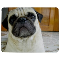 Pug Laying Jigsaw Puzzle Photo Stand (Rectangular) by TailWags