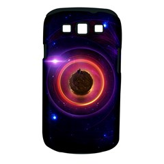 The Little Astronaut On A Tiny Fractal Planet Samsung Galaxy S Iii Classic Hardshell Case (pc+silicone) by jayaprime