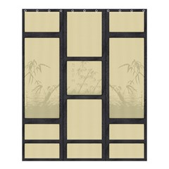 Tatami   Bamboo Shower Curtain 60  X 72  (medium)  by RespawnLARPer