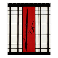 Shoji   Bamboo Shower Curtain 60  X 72  (medium)  by RespawnLARPer