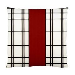 Shoji   Red Standard Cushion Case (two Sides) by RespawnLARPer