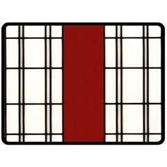 Shoji   Red Fleece Blanket (large)  by RespawnLARPer