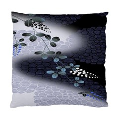 Abstract Black And Gray Tree Standard Cushion Case (one Side) by BangZart