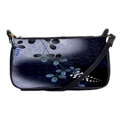 Abstract Black And Gray Tree Shoulder Clutch Bags by BangZart