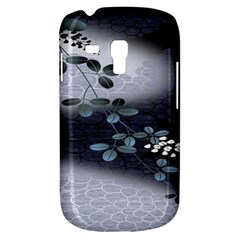 Abstract Black And Gray Tree Galaxy S3 Mini