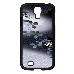Abstract Black And Gray Tree Samsung Galaxy S4 I9500/ I9505 Case (black)