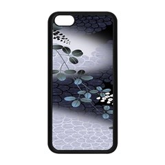 Abstract Black And Gray Tree Apple Iphone 5c Seamless Case (black)
