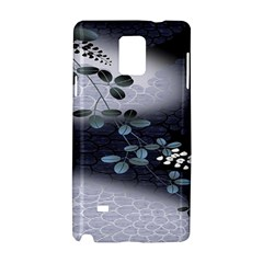 Abstract Black And Gray Tree Samsung Galaxy Note 4 Hardshell Case by BangZart