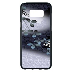 Abstract Black And Gray Tree Samsung Galaxy S8 Plus Black Seamless Case by BangZart