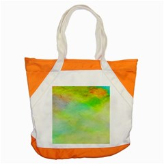 Abstract Yellow Green Oil Accent Tote Bag by BangZart