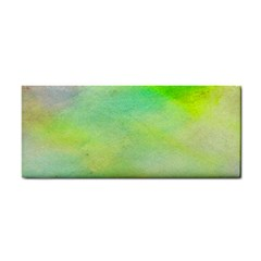 Abstract Yellow Green Oil Cosmetic Storage Cases by BangZart