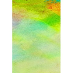 Abstract Yellow Green Oil 5 5  X 8 5  Notebooks by BangZart
