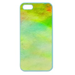 Abstract Yellow Green Oil Apple Seamless Iphone 5 Case (color) by BangZart