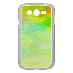 Abstract Yellow Green Oil Samsung Galaxy Grand Duos I9082 Case (white)