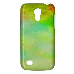 Abstract Yellow Green Oil Galaxy S4 Mini