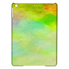 Abstract Yellow Green Oil Ipad Air Hardshell Cases by BangZart